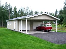 Free 2 Car Garage Plans Carport And Garage Designs Pdf Garage With Carport Plans Free