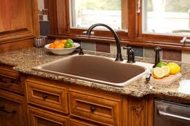 Brown Kitchen Sink Granite Sinks Granite Kitchen Sinks Franke Kitchen Systems