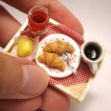 cuisine miniature miniature food tiny cakes and savoury creations by