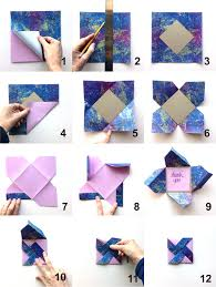 How To Make Origami Greeting Cards - wooding shows how to make a pretty and pretty easy pinwheel