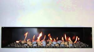 hole in the wall gas fire with pebbles youtube