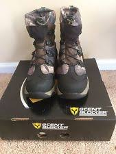 s insulated boots size 9 scent blocker pursuit wool insulated boots wppacl mossy oak