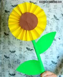 cara membuat bunga dari lipatan kertas cara mudah membuat bunga matahari dari kertas do it yourself