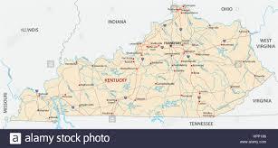 kentucky flag map kentucky state map stock photos kentucky state map stock images