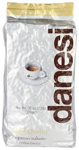 espresso coffee bag amazon com danesi gold quality beans 2 2 lbs bag espresso coffee