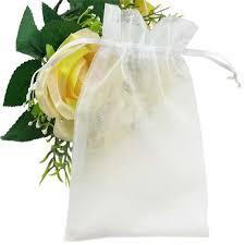 organza gift bags sumdirect 100pcs 4 3 x6 3 sheer drawstring organza
