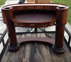 Antique Reception Desk by Antique Half Circle Reception Style Desk Antique Appraisal