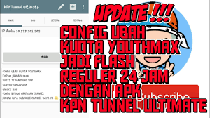 bug host youthmax anonytun update config youthmax telkomsel kpn tunnel ultimate cara android