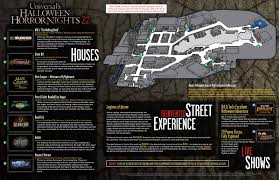 universal studios halloween horror nights 2016 hollywood behind the thrills halloween horror nights 22 map is released