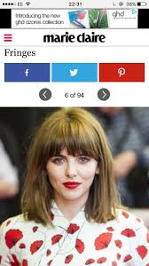 87 best hairstyles with a fringe images on pinterest hair