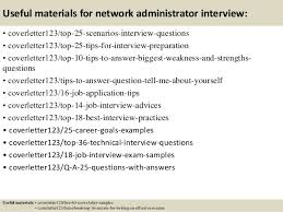 Best Network Administrator Resume by Top 5 Network Administrator Cover Letter Samples