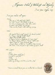 hogwarts supplies list by rebeccabrenna on deviantart