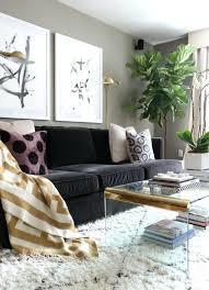 salon avec canapé noir canape noir moderne petit canapac moderne 269 eur seoul noir canape