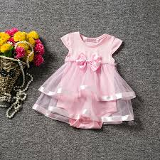 newborn baby 1 year birthday dress clothes for baptism