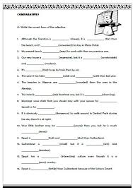 brilliant ideas of worksheets on comparative adjectives on sample
