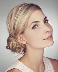 coiffure femme pour mariage tresse chignon mariage coiffure femme cheveux pour mariage