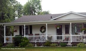ranch style front porch homey porch designs for ranch style homes home porches add appeal