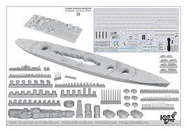 70356 battleship sovetskyj soyuz project 23 1 700