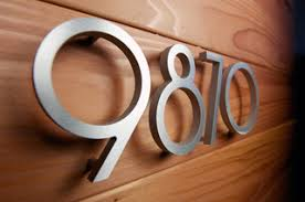 modern house numbers tucson az us 85732