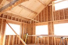 Pine Ceiling Boards by Roof Construction Coteau Des Prairies Lodge