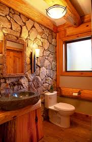 accessories adorable log cabin bathroom shower curtains