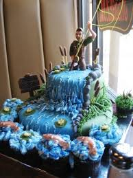 31 best fishing cakes images on pinterest fishing cakes fishing