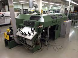 used bindery machines allaoui graphic machinery