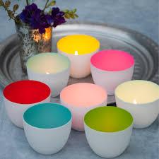 tealight holders luna porcelain tea light holder by penelopetom