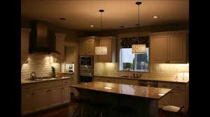 Kitchen Island Pics Captivating Pendant Lightings Over Kitchen Island Youtube