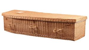wicker casket coffins caskets william barrett sons