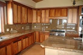 kitchen kitchen colors with dark oak cabinets flatware utensil