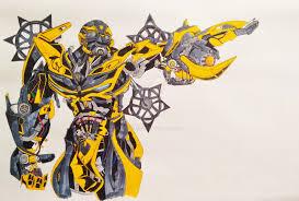 bumblebee transformers 4 by drawmega on deviantart