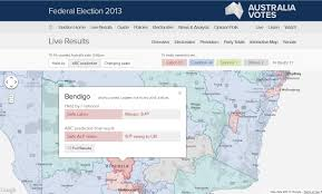 Election Map Interactive All Things Spatial Federal Election 2013 Results Mapped