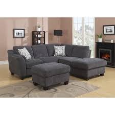 clayton sofas emerald clayton charcoal 2 peice sectional sofa free shipping