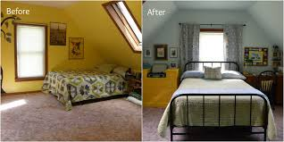Before And After Bedroom Makeovers - bedroom makeover u2013 the oke den