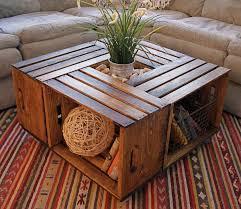 Coffee Table Wood Big Wooden Coffee Table Solid Hardwood Construction Rustic Wood