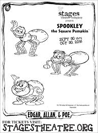Halloween Pumpkin Coloring Page Spookley The Square Pumpkin Coloring Pages Spookley The Square