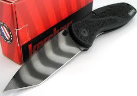 kershaw usa blur tiger stripe bdz1 tanto assistedopening knife new