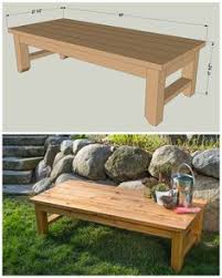 Wood Bench Plans Deck by My Guys Could Make This Only 1 2 The Width To Use As A Garden