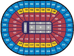 pepsi center floor plan seating information scottrade center