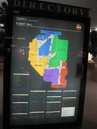 Towne East Mall Map Midway Mall Sherman Texas Labelscar