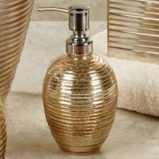 Croscill Bath Accessories by Honeycomb Champagne Gold Bath Accessories By Croscill
