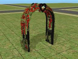 wedding arches in sims 3 mod the sims requested black wedding arch