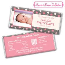 baby girl announcements personalized candy heresheis it s a girl baby announcement
