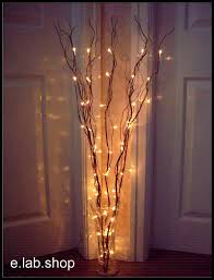 Battery Light Comes On And Off Best 25 Twig Lights Ideas On Pinterest Tree Branch Decor