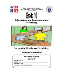 k 12 module in tle ict grade 10 all gradings
