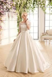 lace top wedding dress cheap boat neck white ivory lace top wedding dress with sleeves
