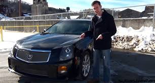 review 2004 cadillac cts v youtube