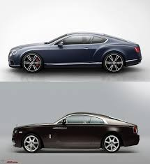 bentley mulsanne vs rolls royce phantom rolls royce wraith most powerful rr coming up page 2 team bhp