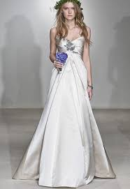 vera wang wedding dresses 2010 vera wang satin wedding dress with gentle decoration